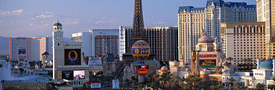 The Strip Las Vegas Nv Art Print by Panoramic Images