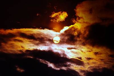 The Sun And Clouds Print by Jeff Swan