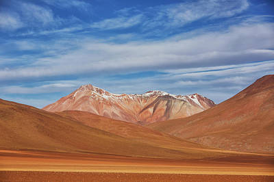 Surrealism Royalty-Free and Rights-Managed Images - The Surreal Landscape Of Bolivia S by Robert Postma