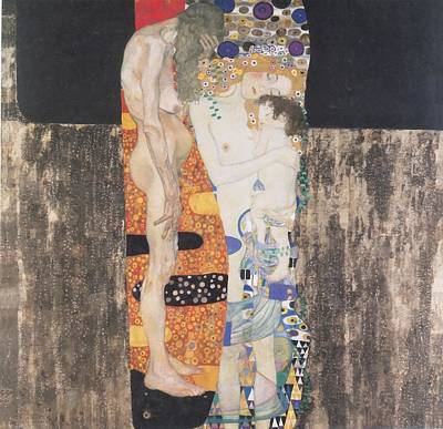 Painting - The Three Ages Of Woman by Gustav Klimt