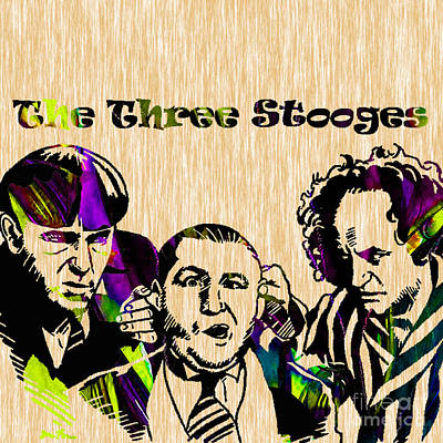 The Three Stooges Collection Art Print