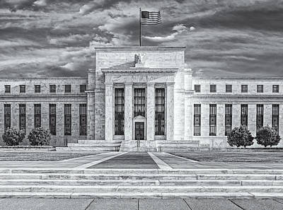 The Us Federal Reserve Board Building Art Print