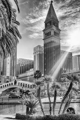 Photograph - The Venetian Resort Hotel Casino by Howard Salmon