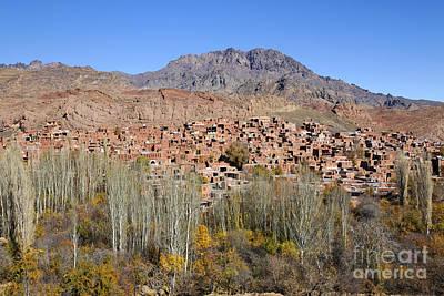 The Village Of Abyaneh In Iran Art Print by Robert Preston