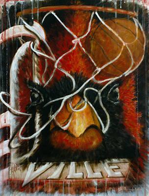 Basketball Painting - The Ville by Josh Hertzenberg