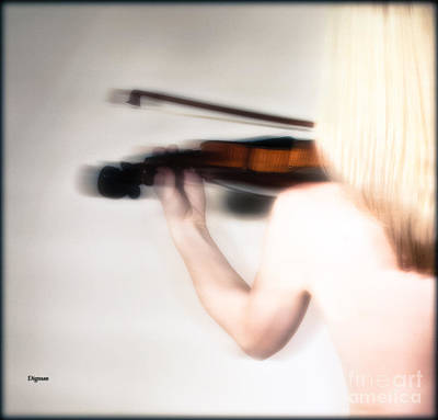 Nude Female Art Photograph - The Violinist  by Jacob Smith