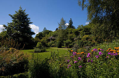 Lough Photograph - The Walled Garden, Belvedere House by Panoramic Images