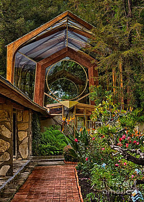Photograph - The Wayfarers Chapel by Donna Greene