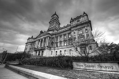Wayne County Photograph - The Wayne County Building by Twenty Two North Photography