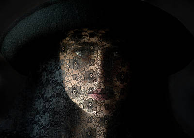 Hidden Face Photograph - The Widow by