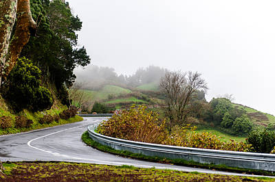 Photograph - The Winding Road by Joseph Amaral
