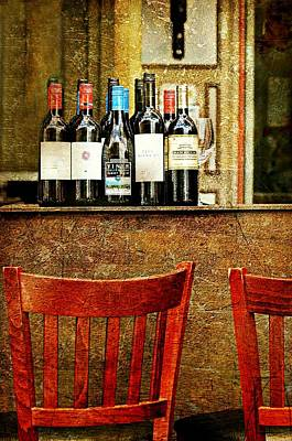 Photograph - The Wine Bar by Diana Angstadt