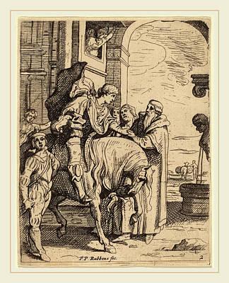 Bid Drawing - Theodoor Van Thulden After Sir Peter Paul Rubens Flemish by Litz Collection