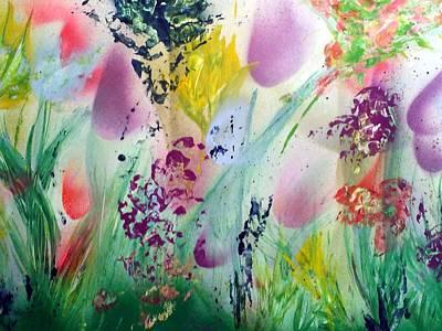 Thinking Of Spring Art Print