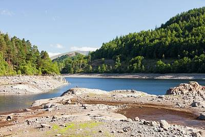 Thirlmere Reservoir In Drought Art Print by Ashley Cooper