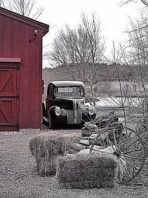 Photograph - This Old Ford by Janice Drew