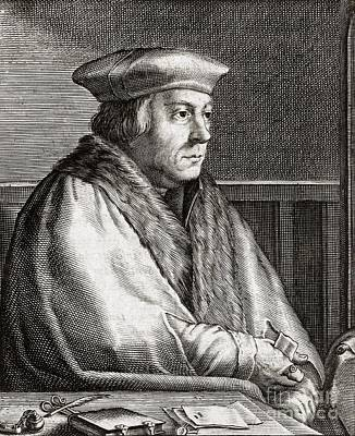 Thomas Cromwell, English Statesman Art Print by Middle Temple Library