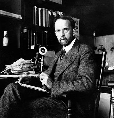 Heredity Photograph - Thomas Hunt Morgan by American Philosophical Society