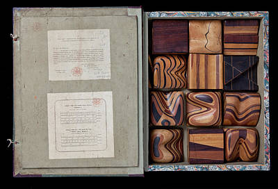Buckland Photograph - Thomas Sopwith's Geological Model Set by Natural History Museum, London