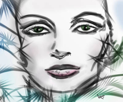 Digital Art - Thoughts by Kiki Art