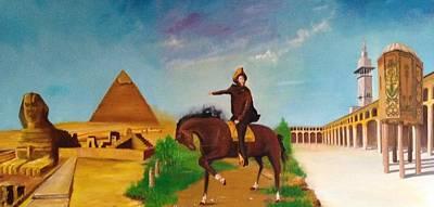 Painting - Three Cities by Rami Besancon