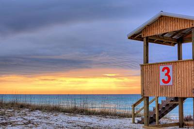 Navarre Beach Photograph - Three by JC Findley