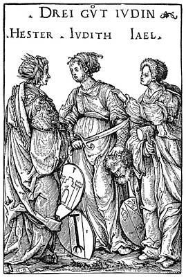 Queen Esther Painting - Three Jewish Heroines by Granger