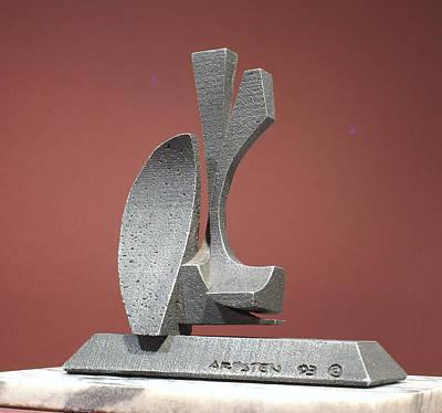 Sculpture - Three Queens by Richard Arfsten