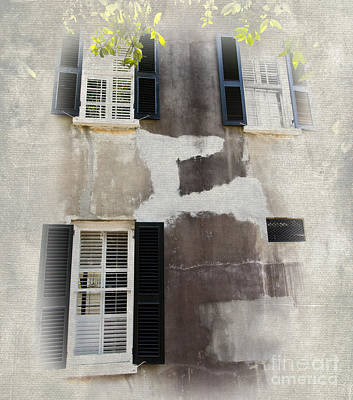 Painting - Three Windows by Dan Carmichael