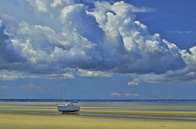 Photograph - Thumpertown Beach Lowtide 2 by Allen Beatty