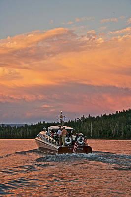 Photograph - Thunderbird Sunset by Steven Lapkin