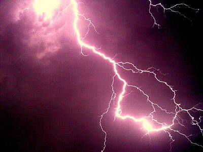 Photograph - Lightning by Salman Ravish