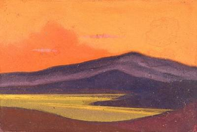 Russia Painting - Tibet by Nicholas Roerich