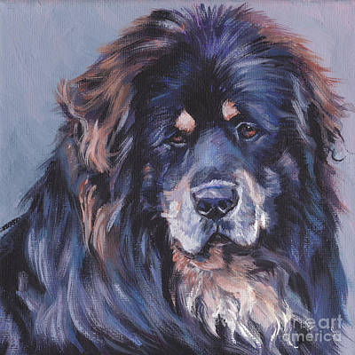 Painting - Tibetan Mastiff by Lee Ann Shepard