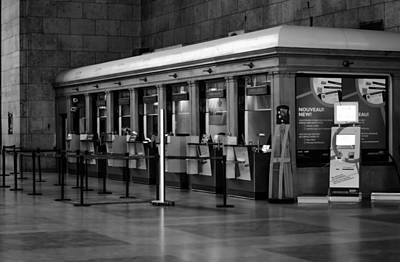Photograph - Ticket Booth by James Canning