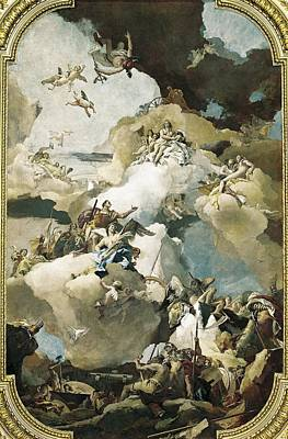 Hephaestus Wall Art - Photograph - Tiepolo, Giovanni Battista 1696-1770 by Everett