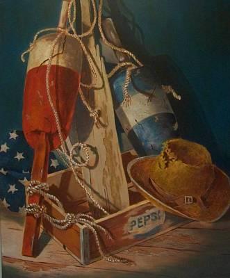 Painting - Ties That Bind by Tony Caviston