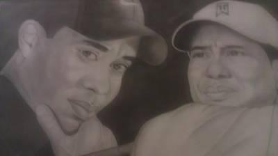 Tiger Woods Master Piece Original by Rufus  Leonard jr