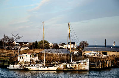 Tilghman Island Maryland Art Print by Bill Cannon