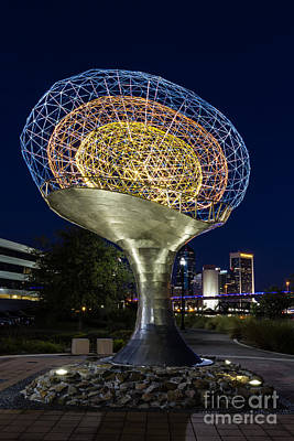 Art In Public Places Photograph - Tillie Fowler Memorial Northbank Riverwalk Jacksonville Florida by Dawna  Moore Photography