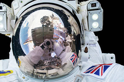 Emu Photograph - Tim Peake's Spacewalk by Nasa