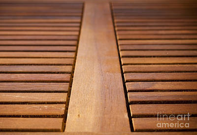 Outerspace Patenets Royalty Free Images - Timber Slats Royalty-Free Image by THP Creative
