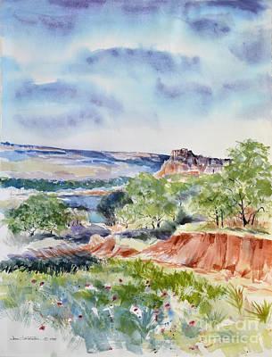 Timbercreek Canyon Art Print by Joan Hartenstein