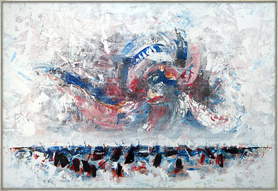 Painting - Time Outbreaking by Florin Birjoveanu