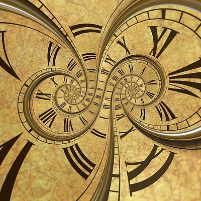 Time Spiral Art Print by David Parker