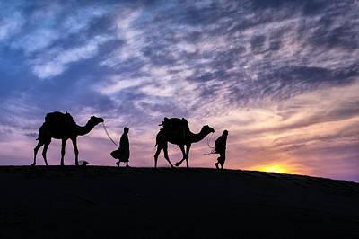 Time To Go Home Original by Mukesh Srivastava