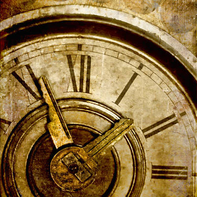 Collage Photograph - Time Travel by Carol Leigh