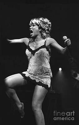 Singer Tina Turner Art Print by Concert Photos