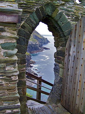 Photograph - Tintagel Portal by Denise Mazzocco