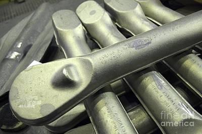 Metal Fabrication Photograph - Titanium Forgings by RIA Novosti